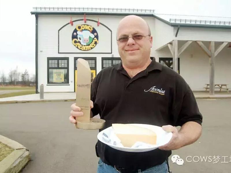 COWS奶酪获世界金奖