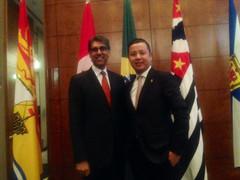 大西洋省长理事会(CAP)代表团出访巴西