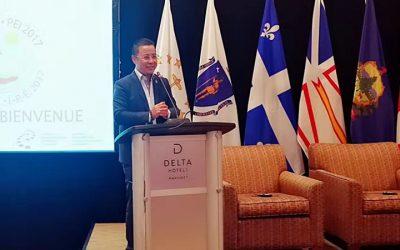 周玄先生作为企业家代表再次受邀参加第四十一届美国州长加拿大省长会议