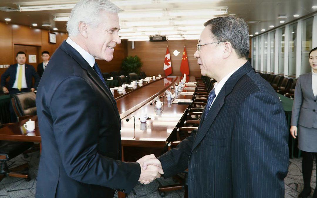 加中海洋石油产业关键项目合作意向积极突破